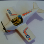 1974 Fisher Price Adventure People DAREDEVIL SPORT PLANE & FIGURE @SOLD@